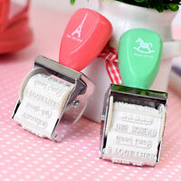 Rubber Stamps For Card Making Roller Stamp DIY Project Words and Stamps    R