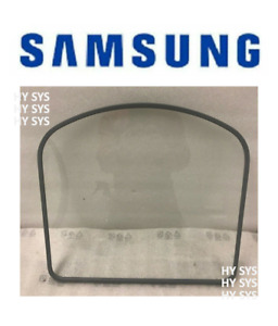 DC64-02789A (OB) OEM Genuine Samsung Dryer Door Inner Glass with Gasket (Seal)