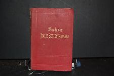 Guide baedeker;italie septentrionale jusqu'a Livourne, Florence, Ravenne 1904