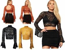 Cut Out Regular Crop Tops for Women