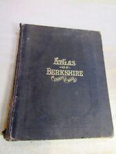 1876 BERKSHIRE COUNTY MASSACHUSETTES BEERS ATLAS
