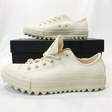 Converse Womens CTAS Lift Ripple Ox Platform (size 9) Natural/cream 559861c