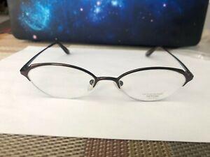 Authentic Oliver Peoples  EYEWEAR designer Eyeglasses !  Classic! Titanium!