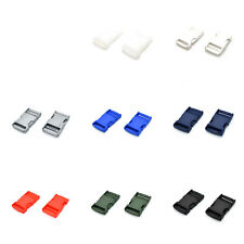 Plastic Side Release Buckles Clips For Webbing Strap ▲ 25mm 1 inch ▲ 8 Colours