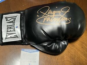 """Manny """"Pacman"""" Pacquiao Signed Autographed Everlast Boxing Glove BAS #AA48930"""