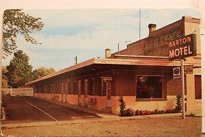 Utah UT Beaver Barton Motel Postcard Old Vintage Card View Standard Souvenir PC
