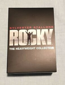 Rocky   The Heavyweight Collection   6 DVD movie box set