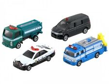 Takara Tomy Tomica Police Vehicle Miniature Car Set F/S FROM JAPAN