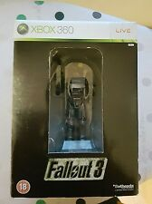 Fallout 3 Collectors Edition Brotherhood Of Steel Statue Xbox 360 No Game