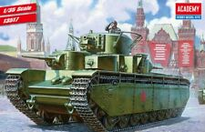1/35 SOVIET HEAVY T-35 TANK  #13517 Academy Model Kit With Free Gifts