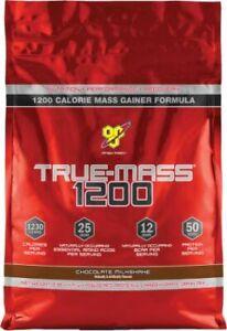 BSN True-Mass 1200 Protein Carb Matrix - Chocolate Milkshake - 15 Servings