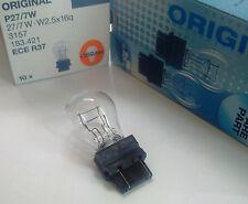 LAMPADINA ad incandescenza USA 12v 2 filo chiaramente OSRAM 3157 27/7 W