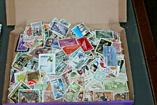 SPAIN & COLONIES - OFF PAPER COLLN IN BOX- ALL ERAS - MINT AND USED 600+ STAMPS