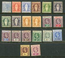 VIRGIN ISLANDS QV KGV MH Lot 20 Stamps