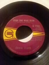 45 Record Edwin Starr Stop the War Now/Gonna Keep on Tryin VG++