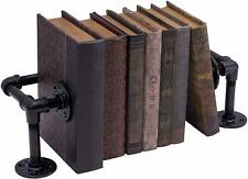 Industrial Style Cast Iron Bookends Great Ambiance Home Decor Piece