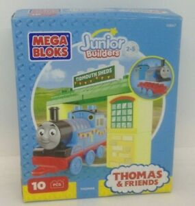 Mega Bloks Thomas & Friends Buildable Engine Toy Figure Tidmouth Sheds