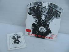 Harley Davidson Dealer Counter Display Sign AMF Shovelhead motor Air Cleaner