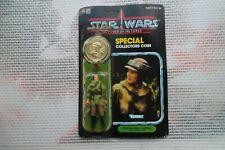 Princess Leia Poncho +Carte+ Coin / Star Wars vintage Kenner POTF Action Figure+