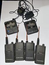 4 Motorola spirit Mu22cvs/mu22cv Two Way Business Radios