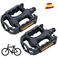 x2 Pedales Bicicleta de resina agarre BTT MTB mountain bike bici universal bmx