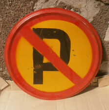Road Sign USSR Real vintage metal