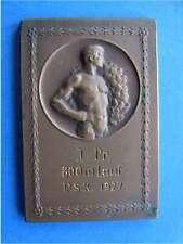 Medaille Plakette Prussia Samland Königsberg Ostpreussen 1927