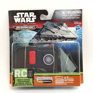 Star Wars the Force Awakens Micro Machines Star Destroyer Vehicle Remote Control