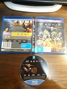 47 Ronin (Blu-Ray, 2014) free post Keanu Reeves please see my other listings
