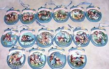 16 Winnie the Pooh Christmas Ornaments Honeypot Adventures Bradford Exchange Set