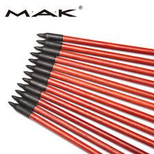 X12 Archery Wood Arrows F Compound Recurve Longbow Target Archery 80cm