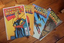 Captain Marvel 1-4 first prints (Marvel comics vo)