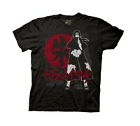 Naruto Shippuden Itachi Symbols Anime Adult T-Shirt