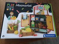 Clementoni 18550 Play Creative Mini-market, new sealed