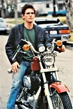 ACTOR MATT DILLON HARLEY DAVIDSON SPORTSTER MOTORCYCLE 8X12 PHOTO COOL TOUGH GUY