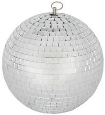 QTX MB-30 Mirrorball Glitter Glass Ball Retro Club Disco Party DJ Classic 30CM