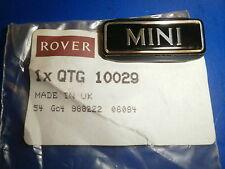 Classic Mini Badge - Suit 998 & 1275 Cars - QTG10029