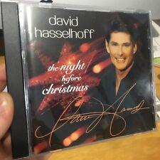 David Hasselhoff - The Night Before Christmas CD ** rare **