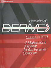 NEW UNIQUE Computer Algebra DERIVE Ver 3 User Manual, Albert Rich, et al. 7th ed