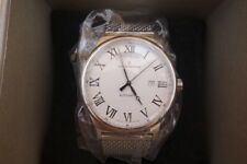Claude Bernard Swiss Made Automatic date day watch Sapphire Crystal *NEW IN BOX