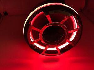 BLAST LED - REV 10 RED LED Speaker Rings for Wet Sounds REV 10 Rev 410 (RED)