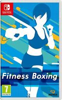 Fitness Boxing Workout Health Exercise Fitness Motion Game For Nintendo Switch