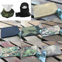 Sciarpe militari del cammuffamento dell'involucro della testa della sciarp CRIT