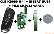 CLE KD900 B11-DS + INSERT HU66 + PILE VARTA CR2032
