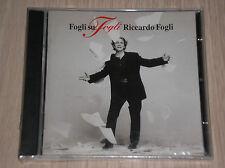 RICCARDO FOGLI - FOGLI SU FOGLI - RARO CD SIGILLATO (SEALED)