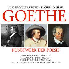 CD Goethe Opera d'arte Der Poesie di Jürgen Goslar 2CDs