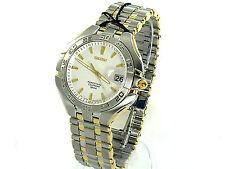 SEIKO Men SLL180 Perpetual Calendar Watch Sapphire Hardlex Crystal Retail $450