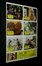 Original OUT OF AFRICA Rare Australian LOBBY CARD 1 SHT POSTER Robert Redford