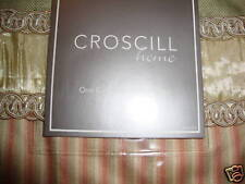 New Croscill Rosebud Euro Pillow Sham