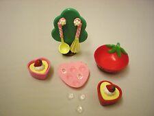 Blythe New 1 Set x Cute Accessories ( Strawberry ) Set